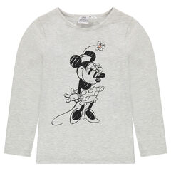 T-shirt met Disney Minnie print