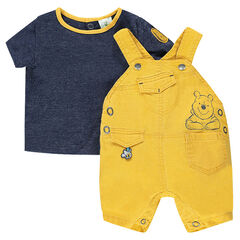 Ensemble met t-shirt met korte mouwen en playsuit van Disney's Winnie the Pooh