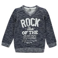 Trui in tricot