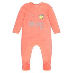 Pyjama van velours van ©Smiley baby
