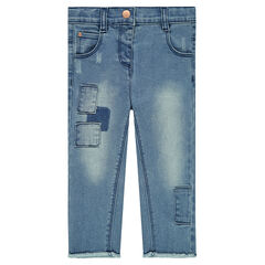 Jeans met patches