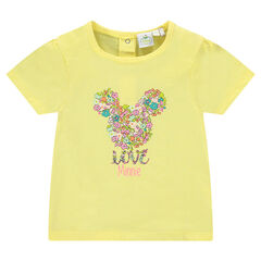 T-shirt met korte mouwen en fantasieprint met Dinsey's Minnie