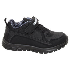 Lage sneakers met elastische veters en klittenbandsluiting FREEGUN