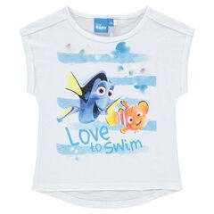 T-shirt met korte mouwen van Disney's Dory