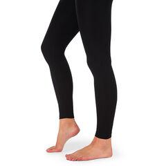 Slim-fit legging van katoen met hoge band