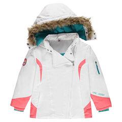 Junior - Ski-jas met microfleece voering en afneembare kap
