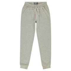 Junior - Pantalon de jogging en molleton pailleté