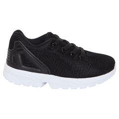 Lage sneakers met mesh en elastische veters van maat 24 tot 27