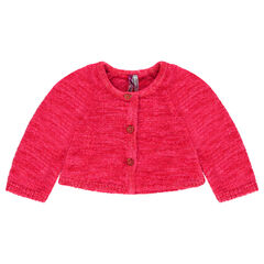 Vest van zachte tricot
