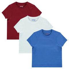 Set van 3 t-shirts korte mouwen