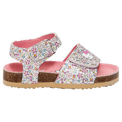 Hello Kitty sandalen met bloemenprint