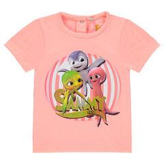 T-shirt met korte mouwen met print van Sammy & Co