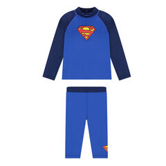 Anti-uv ensemble van DC Comics met Supermanprint