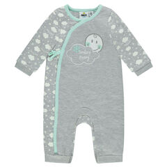 Playsuit met ©Smiley print met wolken