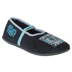 Zwarte pantoffels patch