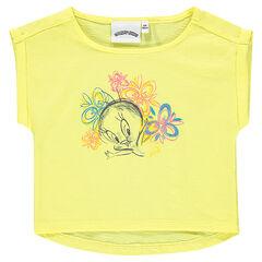 Shirt met korte mouwen Looney Tunes Tweety