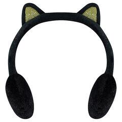Cache-oreilles en velours avec oreilles fantaisie
