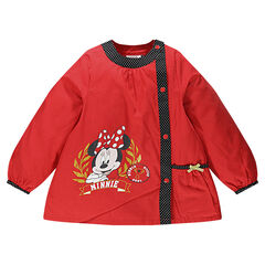 Schort lange mouwen Disney Minnie zak