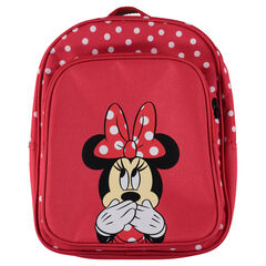Sac à dos rouge à pois Disney Minnie