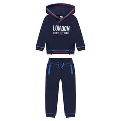 "Jogging en molleton avec print ""London"""