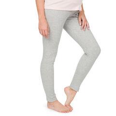 Pantalon de grossesse homewear avec bandeau haut