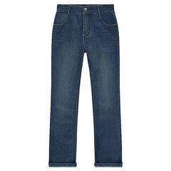 Jeansbroek used effect