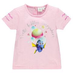 T-shirt korte mouwen fantasieprint Disney