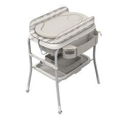 Table à langer avec baignoire Cuddle & Bubble - Comfort Silver