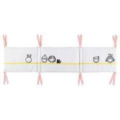 Tour de lit imprimé fantaisie - 171 x 38 cm