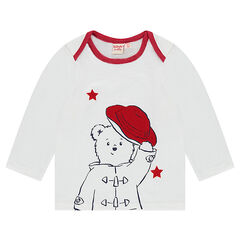 T-shirt met lange mouwen en US kraag met ©Paddington print