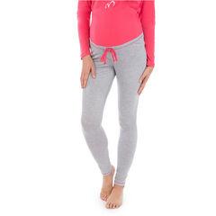 Pantalon homewear de grossesse à pois all-over