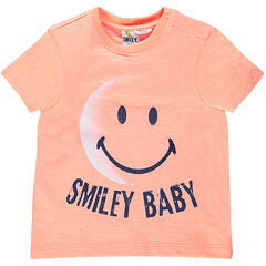 Shirt met korte mouwen en ©Smiley print