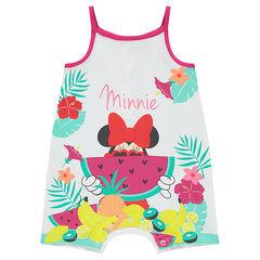 Combinaison courte Disney Minnie avec print exotique