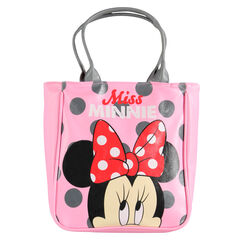 Sac shopping à pois avec print Disney Minnie