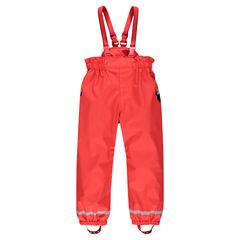 Pantalon en gomme imperméable à bretelles Disney Minnie