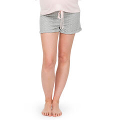 Short de grossesse homewear à pois