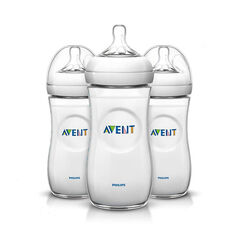 Set van 3 Natural-babyfles - 330 ml