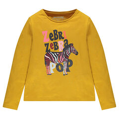 Junior - T-shirt met lange mouwen en fantasieprint