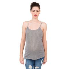 Set met 2 tanktops voor de zwangere vrouwen effen/met motief