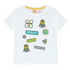 T-shirt met korte mouwen en Minionbadges