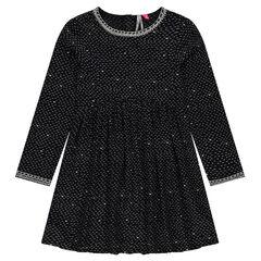 Junior - Soepele jurk met fantasieprint