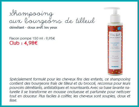 shampooing tilleul Orchestra