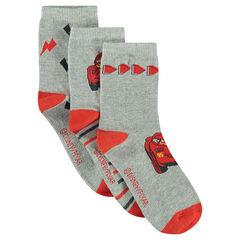 Set met 3 paar matching sokken van Disney/Pixar® met motief van Cars