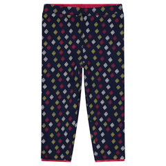 "Legging uit jerseystof met print ""all-over"""