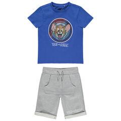 Ensemble t-shirt et bermuda Tom & Jerry Warner