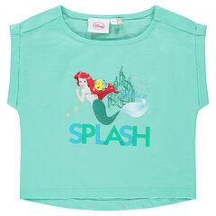 Tee-shirt manches courtes Disney la Petite Sirène