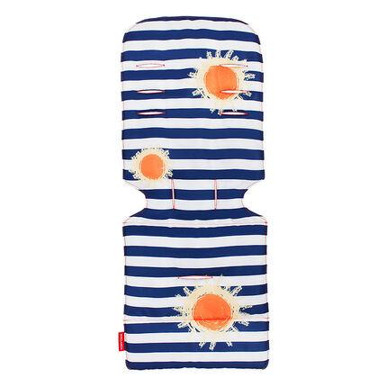 Kussen voor kinderwagen - Sunshine Stripe