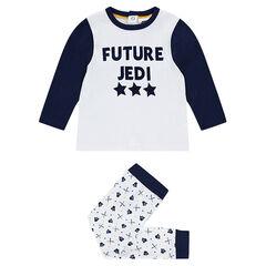 Pyjama en jersey Star Wars™ à message printé et bas imprimé Dark Vador all-over