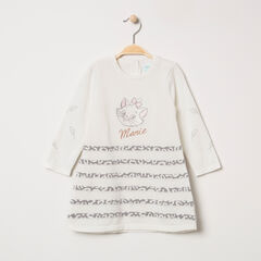 Robe manches longues en tricot Marie Aristochats Disney