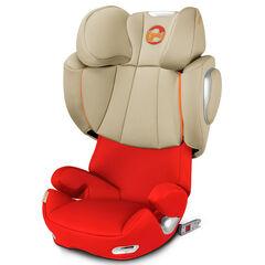 Autostoel Solution Q3-Fix Groep 2/3 - Autumn Gold/Burnt Red